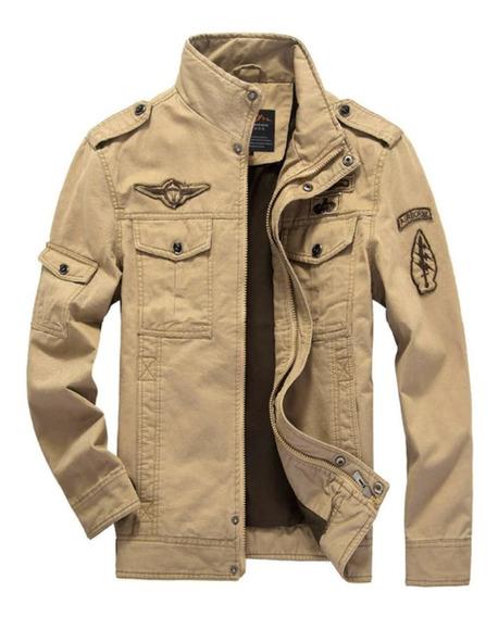 Jaqueta Masculina Sobretudo Exército Preta