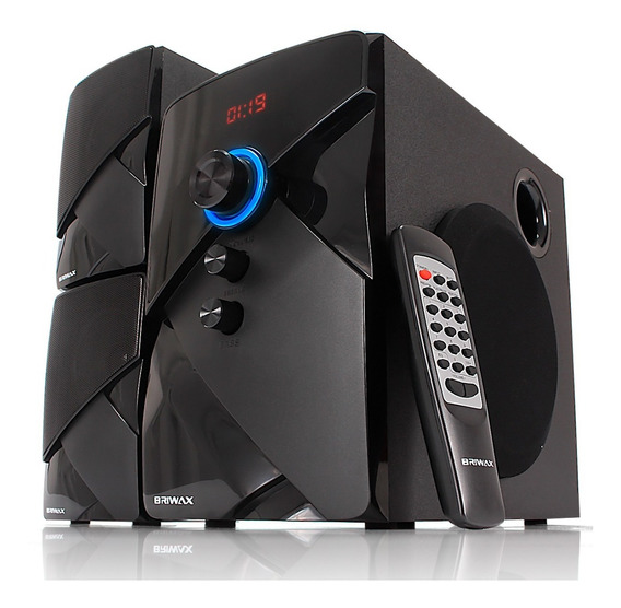 Home Theater Efeito Cinema Caixa De Som Bluetooth 50w Fm Usb
