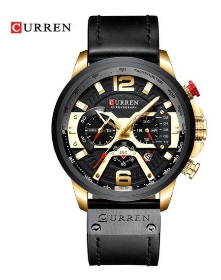 Relógio Masculino Curren Original Funcional Barato Luxo