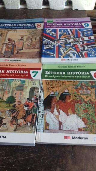 Estudar História 6° Ao 9° Ano /2014/ Frete Frátis