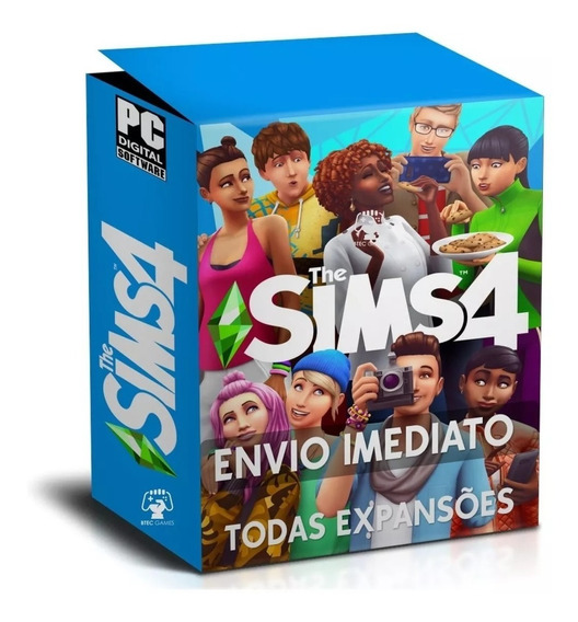 The Sims 4 + Todas Expansões + Universidade - Digital Pc