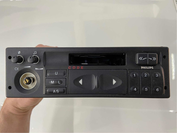 Radio Toca Fitas Philips Sc201 Original Gm