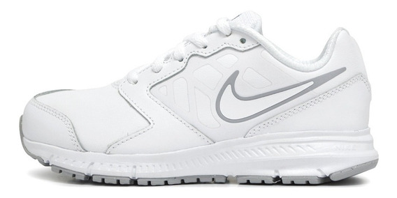 Zapatillas Nike Downshifter 6 Ltr Blanco Niño