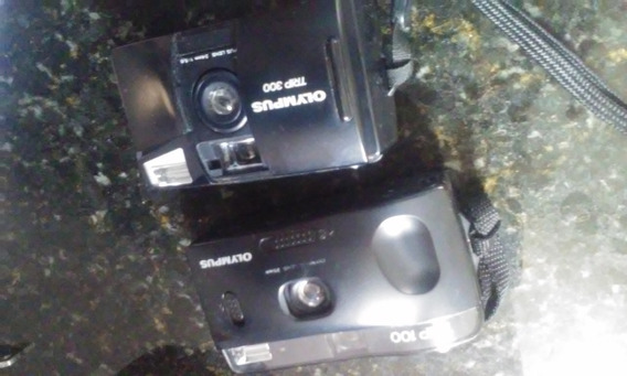 Maquina Fotográfica Olympus - Duas 35mm / Trip 100 E 300