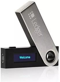 Carteira Ledger Nano S Wallet - Bitcoin E Criptomoedas + Nf