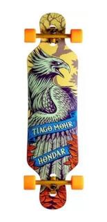 Longboard Hondar Drop Through Tiago Mohr Brilha Escuro