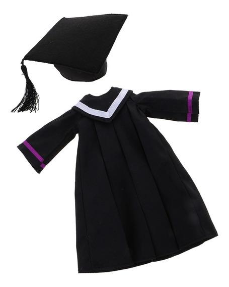 Vestido De Graduación Con Casquillo De Zanjadora De Moda