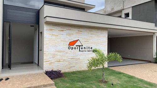 Casa Com 4 Suíte À Venda, 250 M² Por R$ 1.150.000 - Condomínio Terras De Siena - Ribeirão Preto/sp - Ca1448