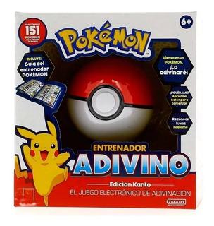 Pokemon Entrenador Adivino Pokebola - Sharif Express