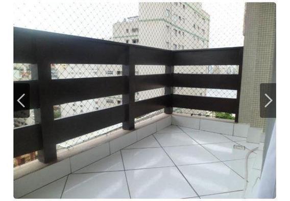 Kitnet Em Centro, São Vicente/sp De 38m² 1 Quartos À Venda Por R$ 210.000,00 - Kn274750