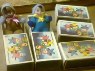Lote Antiguos Muñequitos Baby Doll Cajita 70 Grande Baby Kxz