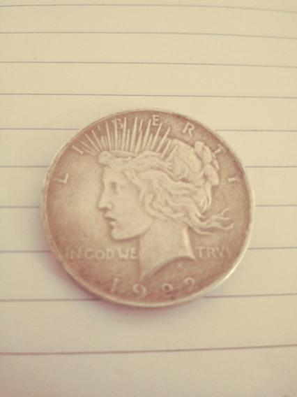 Moneda De Un Dolar De Plata De 1922