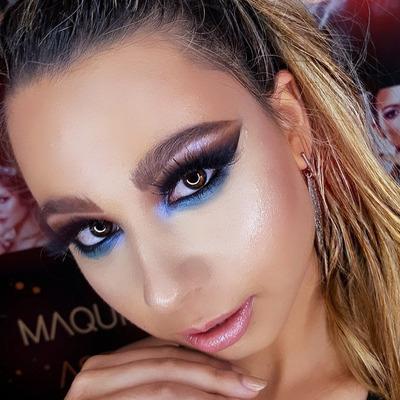 Maquilladora Y Peinadora Profesional Eventos-novias-tv