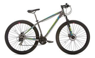 Bicicleta Aro 29 Houston 21 Marchas Mountain Bike Cinza