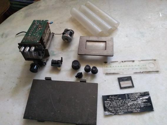 Broksonic Model No Crt-1800 Tape, Rádio E Tv Peças Reposição