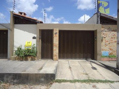 Casa Residencial Para Locação, Lagoa Redonda, Fortaleza. - Ca2148