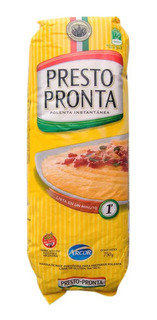 Polenta Presto Pronta 750gr Paquete X1 Harina Instantanea