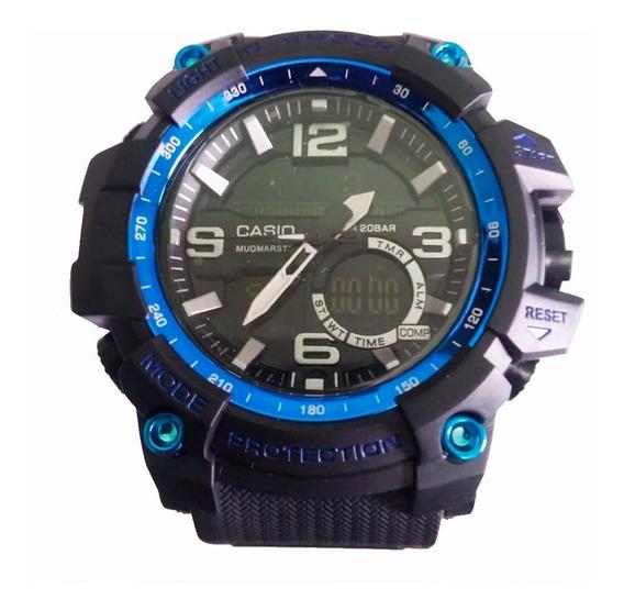 Relógio Tipo G-shock Multifuncional A Prova