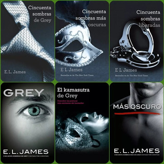 Cincuenta Sombras De Grey (trilogía En Pdf) 6 Libros