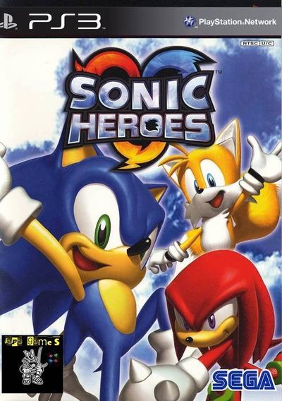 Sonic Heroes Jogos Classicos De Ps2 Para Ps3 Jogos Psn