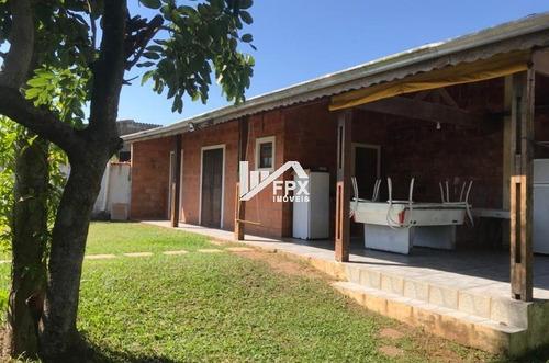 Casa Com Edícula Com Suíte Em Itanhaém - Ca366-f