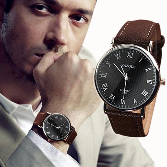 Relógio Yazole Luxury Quartz Analógico Importado
