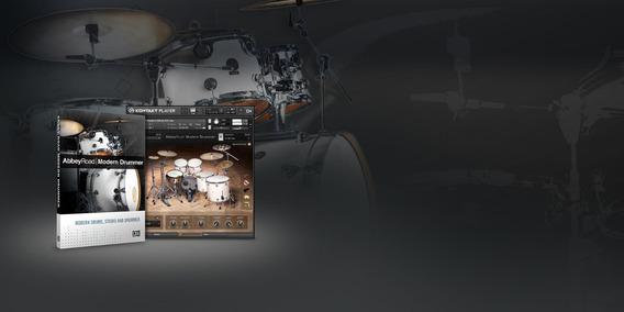 Abbey Road Modern Drummer Bateria Para Kontakt