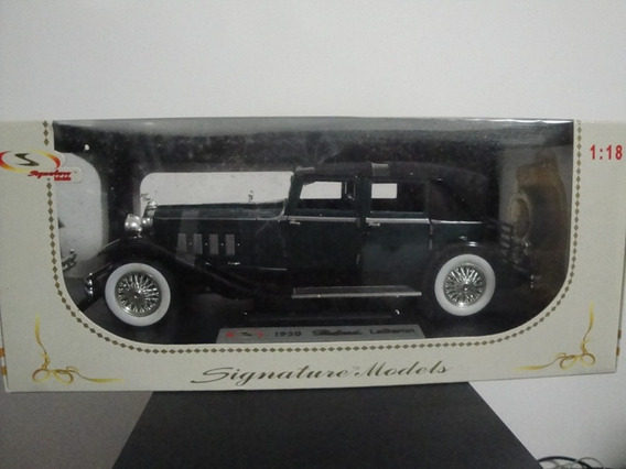 Mini Packard Le Baron 1930 Estepe Relógio 1:18 Tipo Cadillac