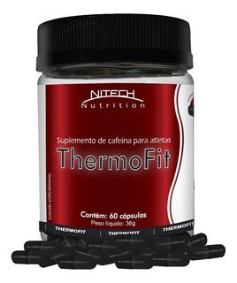 Thermofit Cafeína Termogênico 60 Cápsulas Nitech Nutrition