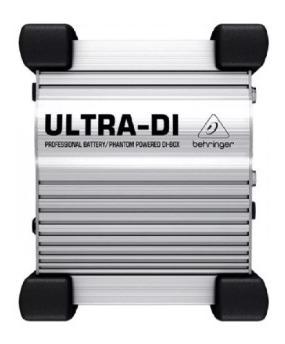 Direct Box Ativo Ultra Di100 - Behringer ( Usei Pouco )