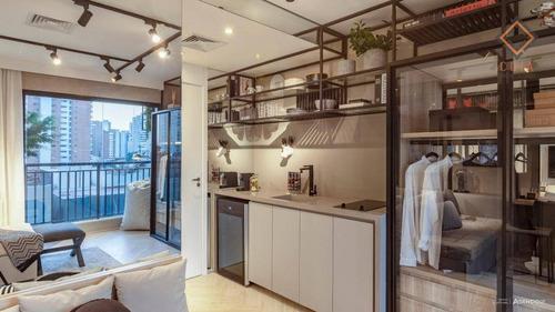 Imagem 1 de 23 de Apartamento Com 1 Dormitório À Venda, 24 M² Por R$ 420.000,00 - Perdizes - São Paulo/sp - Ap52429