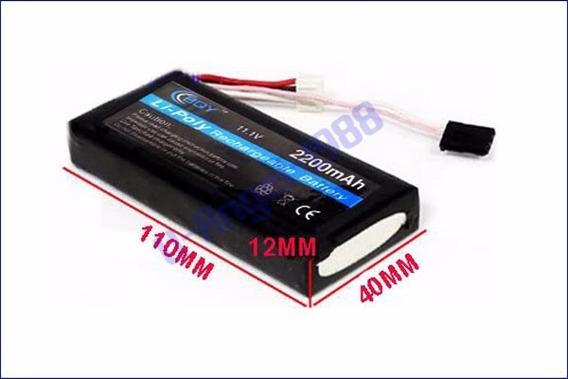 Bateria Lipo 11.1v 2200mah Radio Futaba T6ex Gt3b