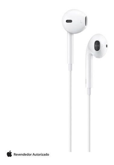Fone Ouvido Earpods Conectorning Branco Apple Mmtn2bz/a