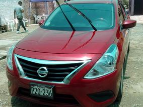 Nissan Versa Sense 1.6 Cc, Año 2015