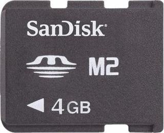 Memory Stick Pro Duo 4gb Sandisk