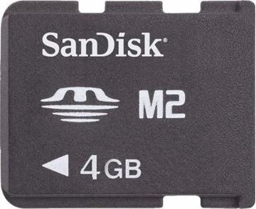 Memory Stick Pro Duo 4gb Sandisk