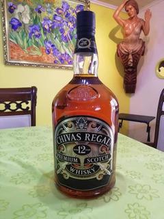 Botellón Whisky Chivas Regal 4.5 Litros Válvula Dosificadora