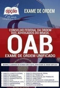 Apostila - Exame De Ordem Dos Advogados Do Brasil (oab) 2019