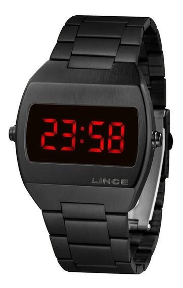 Relógio Feminino Lince Digital Quadrado Original Garantia