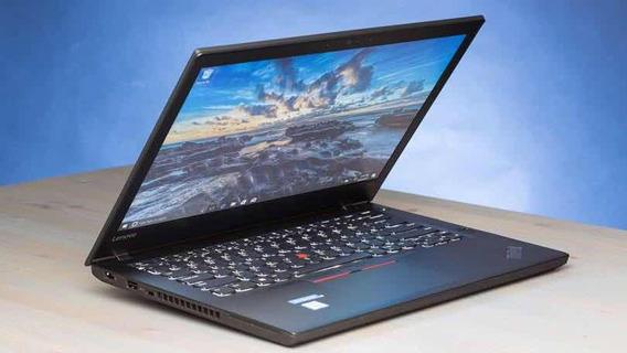 Lenovo Thinkpad T470 I7 8ram Hd 1 Tera Novo Com Nota Fiscal