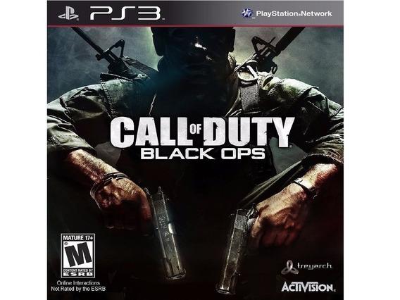 Call Of Duty Black Ops Ps3 Midia Digital Psn Envio Rapido!