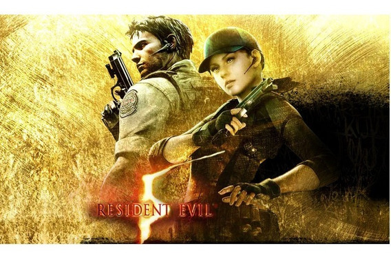 Resident Evil 5 Gold Edition Offline Pc ( Midia Digital)
