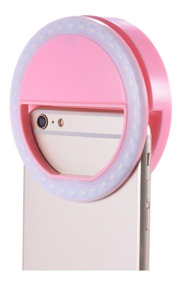 Luz De Selfie Light Ring Anel Led Flash Celular Tablet