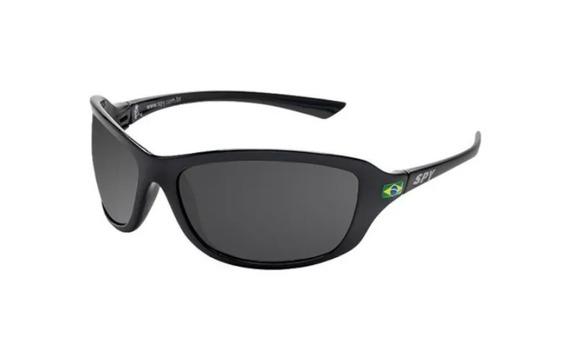 Óculos De Sol Spy Original Link 44 Preto - Lente Preta