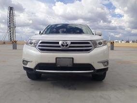 Toyota Highlander 2013 Sport Premium Factura Original Piel