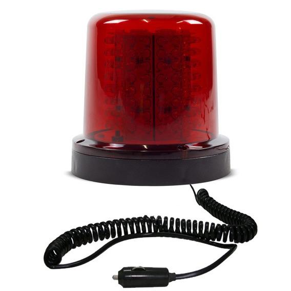 Giroled Giroflex 12v Vermelho 128 Leds 6 Efeitos Imã E Plug