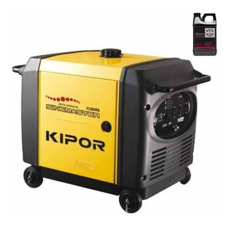 Grupo Generador Insonorizado 6kva Kipor Ig6000 Inverter Moro