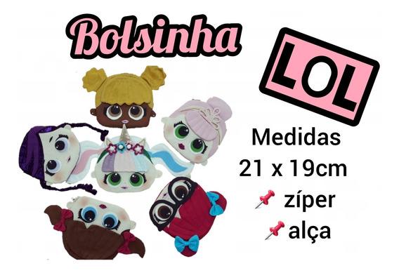 Kit 25 Unid - Bolsinha Lol - Com Zíper