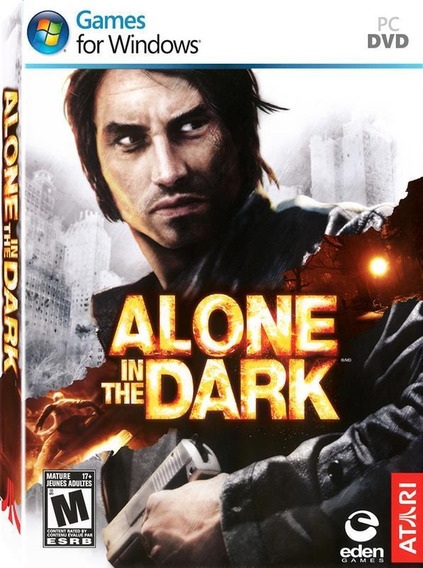 Jogo Pc Alone In The Dark Dvd Original Lacrado