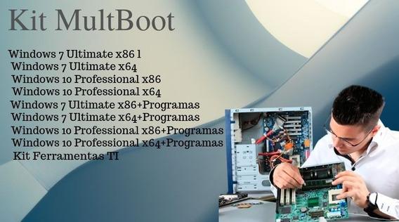 Kit Multiboot Ferramenta Para Técnicos Em Ti